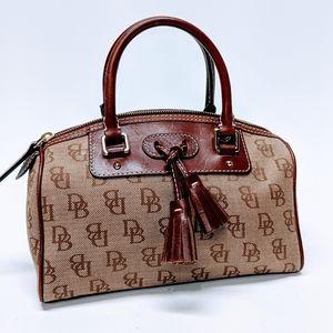 Dooney & Bourke Small Tassle Handbag